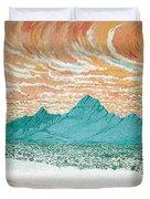 Desert Splendor Duvet Cover