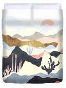 Desert Summer Duvet Cover