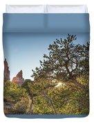 Desert Sunburst Duvet Cover