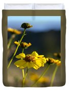 Desert Sunflower Duvet Cover