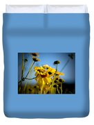 Desert Sunflower Variations Duvet Cover