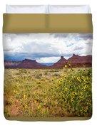 Desert Sunflowers Duvet Cover
