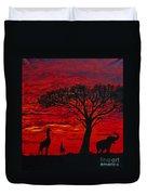 Desert Sunset 3 Duvet Cover