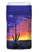 Desert Sunset 4 Duvet Cover