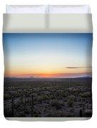 Desert Sunset #5 Duvet Cover