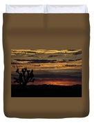 Desert Sunset Duvet Cover