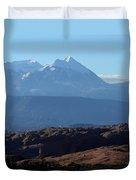 Desert To Mountains Duvet Cover