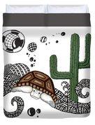 The Desert Tortoise Duvet Cover