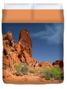 Desert Tower Valley Of Fire Duvet Cover