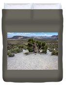 Desert Tree Duvet Cover