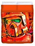 Desert Trooper - Pa Duvet Cover
