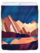 Desert Valley Duvet Cover