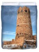 Desert View Watchtower Duvet Cover