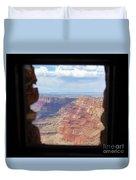 Desert Watchtower View Grand Canyon  Duvet Cover