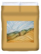 Desert Waves Duvet Cover