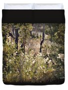 Desert Weeds Duvet Cover