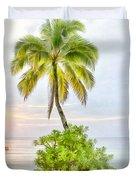 Deserted Beach Tioman Duvet Cover