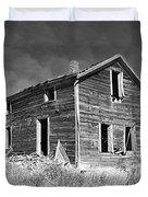 Deserted Home On The Range Duvet Cover