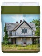 Deserted Oklahoma Farmhouse Duvet Cover