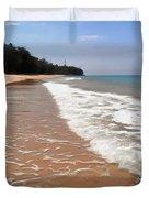 Deserted Shore Of The Island Of Tioman Duvet Cover
