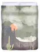 Desertscape Duvet Cover