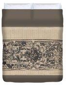 Design For A Binding For Charivaria, Carel Adolph Lion Cachet, 1874 - 1945 Duvet Cover