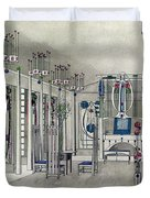 Design For A Music Room With Panels By Margaret Macdonald Mackintosh Duvet Cover