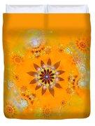 Designs On Gold Duvet Cover