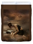 Desolation Duvet Cover by Mary Hood
