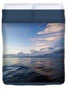 Destin High Tide Duvet Cover
