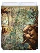 Destination Paris Duvet Cover