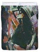 Destinations Abstract Portrait Duvet Cover