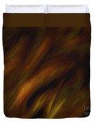 Detail - Pre-raphaelite Tresses Duvet Cover