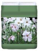 Details In Soft White Duvet Cover
