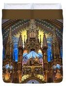 Details Notre Dame Montreal Duvet Cover
