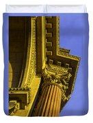 Details Palace Of Fine Arts Duvet Cover