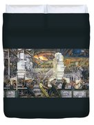 Detroit Industry   North Wall Duvet Cover