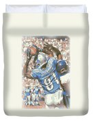 Detroit Lions Calvin Johnson 3 Duvet Cover