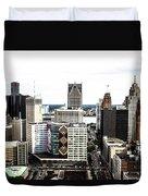 Detroit Duvet Cover