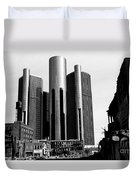 Detroit Rc From Congress Duvet Cover