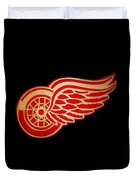 Detroit Red Wings - Scrolled Duvet Cover