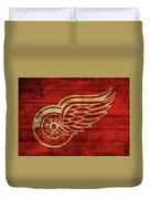 Detroit Redwings Barn Door Duvet Cover