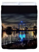 Detroit Reflections Duvet Cover