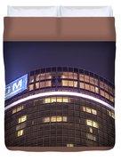 Detroit Renaissance Center Duvet Cover