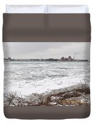 Detroit River Duvet Cover