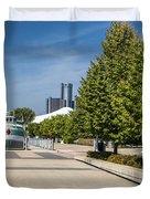 Detroit Riverfront 2 Duvet Cover