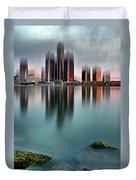 Detroit Sunrise Duvet Cover