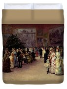 Detti Cesare Auguste Varnishing Day Duvet Cover