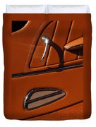 Deucenberg Hot Rod Interior Door Duvet Cover