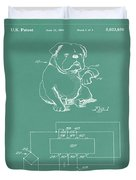 Device For Protecting Animal Ears Patent Drawing 1d Duvet Cover